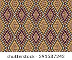 geometric ethnic pattern design ... | Shutterstock .eps vector #291537242