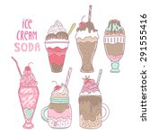 Ice Cream Soda Illustration....