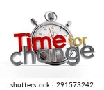 time for change text and... | Shutterstock . vector #291573242