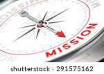 compass with needle pointing... | Shutterstock . vector #291575162