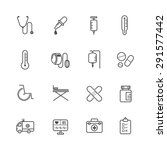 medical icons | Shutterstock .eps vector #291577442