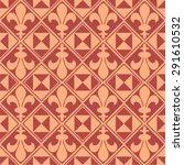 medieval seamless pattern vector | Shutterstock .eps vector #291610532