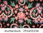 texture fabric chic floral style   Shutterstock . vector #291653156