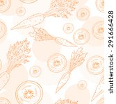 vector seamless pattern with... | Shutterstock .eps vector #291666428