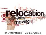 relocation word cloud concept   Shutterstock . vector #291672836