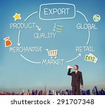 export product merchandise... | Shutterstock . vector #291707348