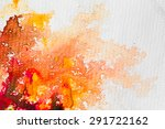hires close up water color... | Shutterstock . vector #291722162