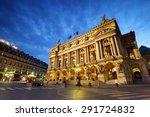 opera garnier  paris  france   Shutterstock . vector #291724832
