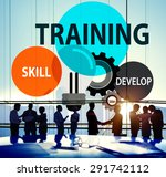 training skill develop ability... | Shutterstock . vector #291742112