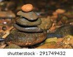stones in the river   Shutterstock . vector #291749432