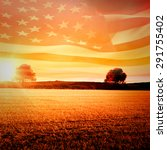 Digitally Generated American...