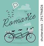 lovely concept design on... | Shutterstock .eps vector #291796826