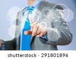close up of businessman hand... | Shutterstock . vector #291801896
