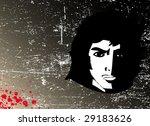 man's face  1 | Shutterstock .eps vector #29183626