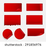 sale sticker  banner template... | Shutterstock . vector #291856976