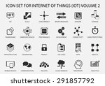 simple internet of things icon... | Shutterstock .eps vector #291857792