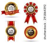 golden premium quality best...   Shutterstock .eps vector #291864392