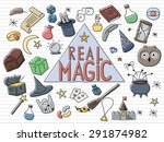 bright magical set. get some... | Shutterstock .eps vector #291874982