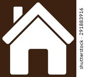 house icon from commerce set.... | Shutterstock . vector #291883916