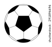 soccer ball | Shutterstock .eps vector #291896696