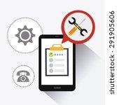 customer digital design  vector ... | Shutterstock .eps vector #291905606