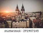 Prague  Old Town Hall In Czech...