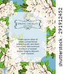 spring delight collection.... | Shutterstock .eps vector #291912452