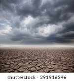 Drought Land On Storm Cloud...
