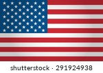 american flag vector background | Shutterstock .eps vector #291924938