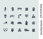 revolution vector set of modern ... | Shutterstock .eps vector #291939206