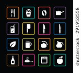 cooking icons universal set for ...   Shutterstock . vector #291953558