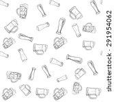 Doodle Beer Glasses Pattern ...