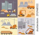 construction site  construction ... | Shutterstock .eps vector #291968522
