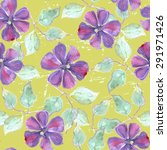 seamless pattern with... | Shutterstock .eps vector #291971426