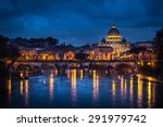 Rome  Italy. Saint Peter Churc...
