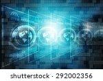 globe internet connecting | Shutterstock . vector #292002356