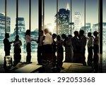 business people corporate... | Shutterstock . vector #292053368