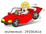 vector illustration of a car... | Shutterstock .eps vector #292063616