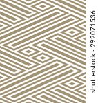 abstract geometric pattern with ... | Shutterstock .eps vector #292071536