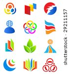 colorful design elements 3.... | Shutterstock .eps vector #29211157