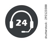 image of headset with text 24...