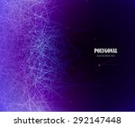 abstract business science or... | Shutterstock .eps vector #292147448