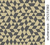 geometric vector texture with... | Shutterstock .eps vector #292151582