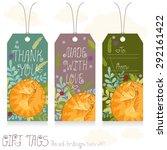 gift tags set for design....   Shutterstock .eps vector #292161422