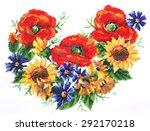 ukrainian embroidery.... | Shutterstock . vector #292170218