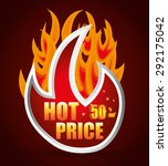hot price digital design ... | Shutterstock .eps vector #292175042