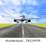 landing gear is down  | Shutterstock . vector #29219959