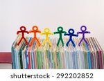 Rainbow Colors In Pipe Cleaner...