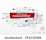 performance management concept... | Shutterstock .eps vector #292210286