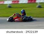 go kart racing on circuit | Shutterstock . vector #2922139